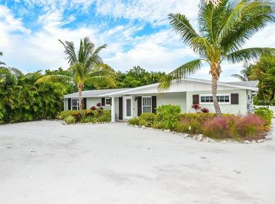Anna Maria Single Family Home For Sale: 9405 Gulf Drive