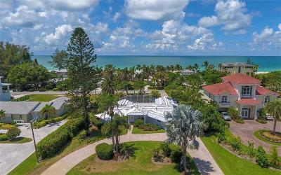 Longboat Key Single Family Home For Sale: 6449 E Gulf Of Mexico Drive E