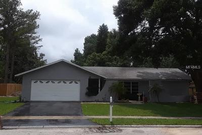 Palm Harbor Single Family Home For Sale: 635 Village Way