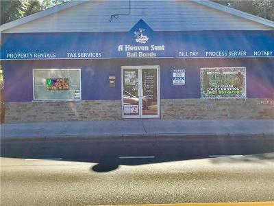 Sarasota Commercial For Sale: 1864 Dr Martin Luther King Way