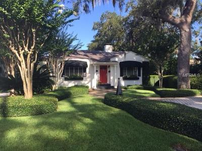 Winter Park Single Family Home For Sale: 1241 Richmond Road