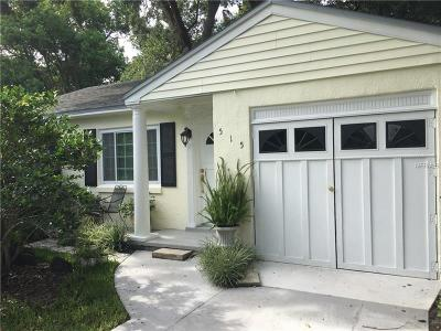 Single Family Home For Sale: 515 W Winter Park Street