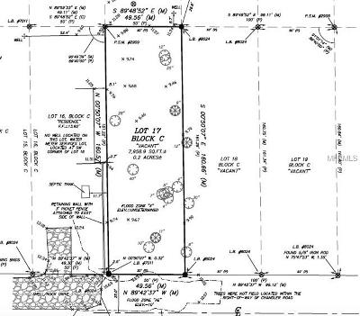 Residential Lots & Land For Sale: Chandler Road