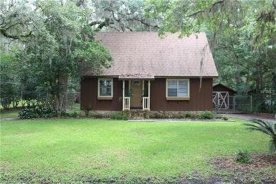 Brooksville Single Family Home For Sale: 514 Jeff A Lee Street