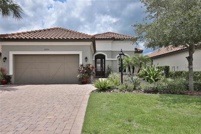 Bradenton Single Family Home For Sale: 12752 Fontana Loop