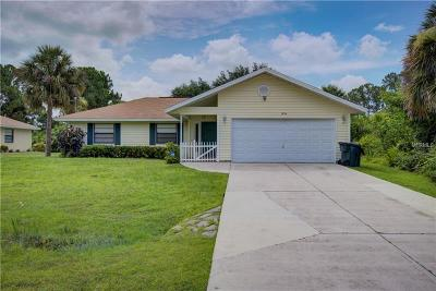 Single Family Home For Sale: 1954 S Cranberry Boulevard