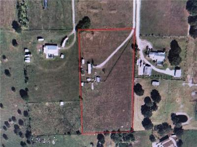Myakka City Residential Lots & Land For Sale: 9941 Wauchula Road