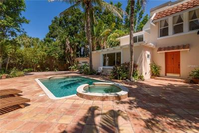 Sarasota Single Family Home For Sale: 1723 Bay Street