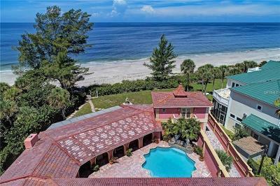 Englewood, Boca Grande Single Family Home For Sale: 8220 Manasota Key Road