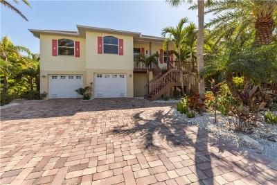 Anna Maria Beach Single Family Home For Sale: 217 Sycamore Avenue
