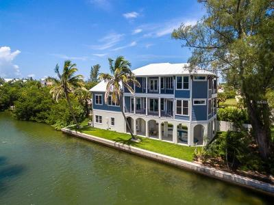 Anna Maria FL Single Family Home For Sale: $2,750,000