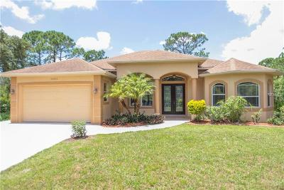 North Port Single Family Home For Sale: 12002 De Soto Drive