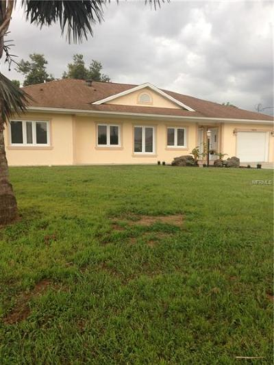 North Port Single Family Home For Sale: 12044 Margarita Avenue