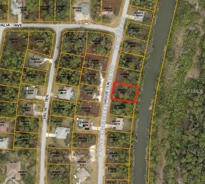North Port FL Residential Lots & Land For Sale: $18,900