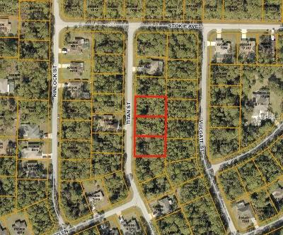 North Port Residential Lots & Land For Sale: Titan Street