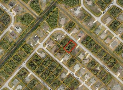 North Port Residential Lots & Land For Sale: Cover Lane