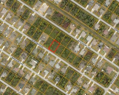 North Port Residential Lots & Land For Sale: Wurtsmith Lane