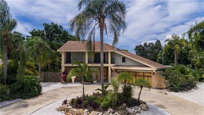 Sarasota FL Single Family Home For Sale: $1,225,000