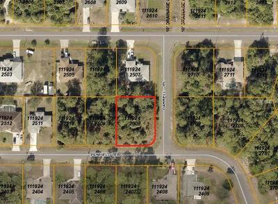 North Port Residential Lots & Land For Sale: Darrell Place