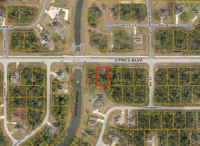 North Port Residential Lots & Land For Sale: E Price Boulevard