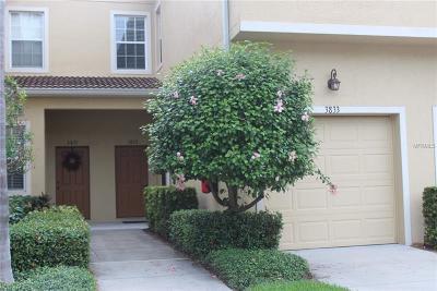 Sarasota Townhouse For Sale: 3833 Parkridge Circle #1-105