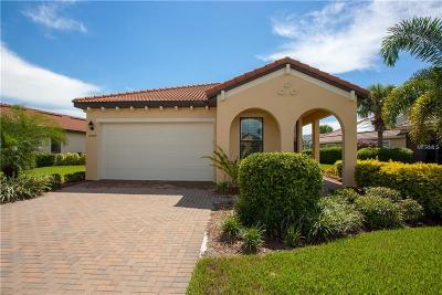 Venice Single Family Home For Sale: 10505 Crooked Creek Drive