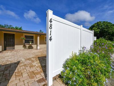Sarasota Single Family Home For Sale: 4814 Riverwood Avenue