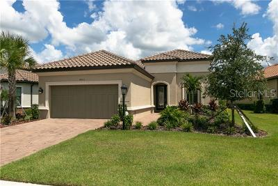 Bradenton Single Family Home For Sale: 4933 Napoli Run