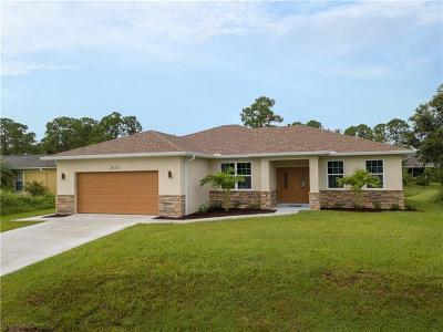 North Port Single Family Home For Sale: 2625 Trilby Avenue