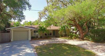 Sarasota Single Family Home For Sale: 1767 Baywood Drive