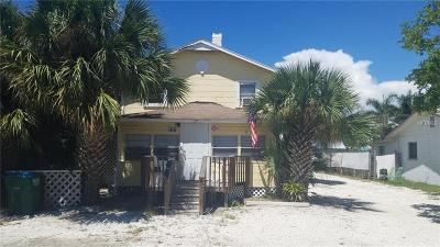 Bradenton Beach Single Family Home For Sale: 106 3rd Street S