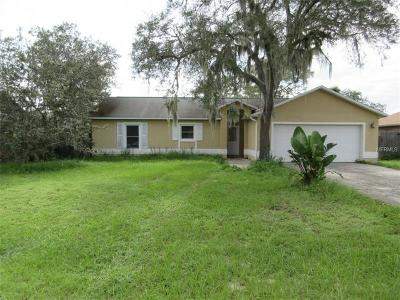 Poinciana Single Family Home For Sale: 1904 Conch Lane