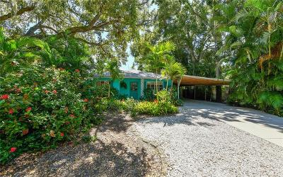 Sarasota Single Family Home For Sale: 868 Patterson Drive