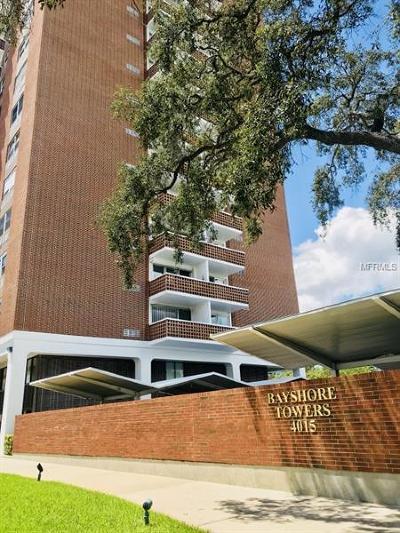 Tampa Condo For Sale: 4015 Bayshore Boulevard #5C