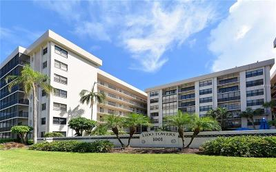 Sarasota Condo For Sale: 1001 Benjamin Franklin Drive #101