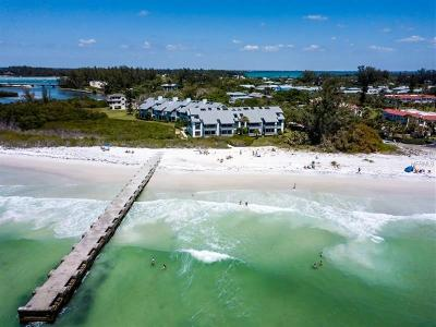 Bradenton, Lakewood Ranch, Longboat Key, Sarasota, Longboat, Nokomis, North Venice, Osprey, Siesta Key, Venice Townhouse For Sale: 260 N Shore Road #2