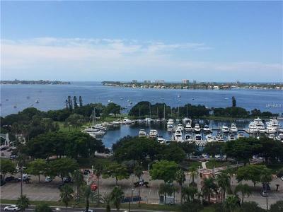 Sarasota Condo For Sale: 101 S Gulfstream Avenue #16G