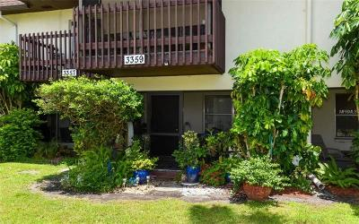 Sarasota Townhouse For Sale: 3359 Ramblewood Drive