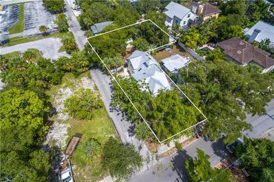 Sarasota Single Family Home For Sale: 1631 Laurel Street