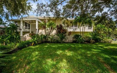Longboa, Longboat, Longboat Key, Longboat Point Single Family Home For Sale: 3390 Bayou Sound