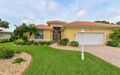 Venice Single Family Home For Sale: 522 Pennyroyal Place