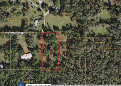 Thonotosassa Residential Lots & Land For Sale: 10817 Cedar Cove Drive