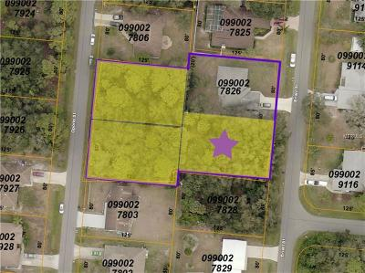 North Port Residential Lots & Land For Sale: Briant Street