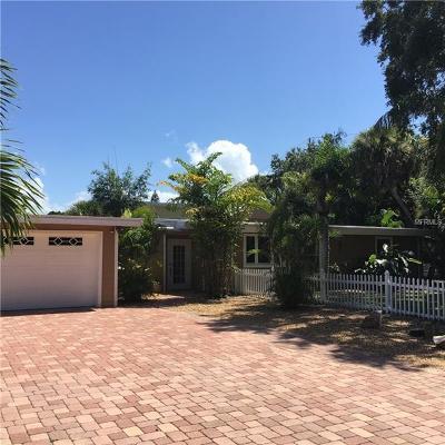 Sarasota Single Family Home For Sale: 4725 Gleason Avenue