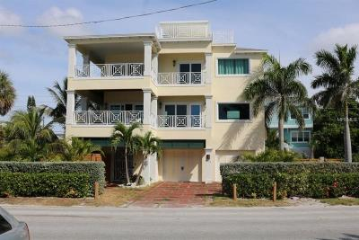 Treasure Island Single Family Home For Sale: 8773 W Gulf Boulevard