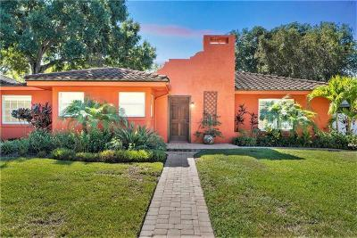 Sarasota Single Family Home For Sale: 1850 Goldenrod Street