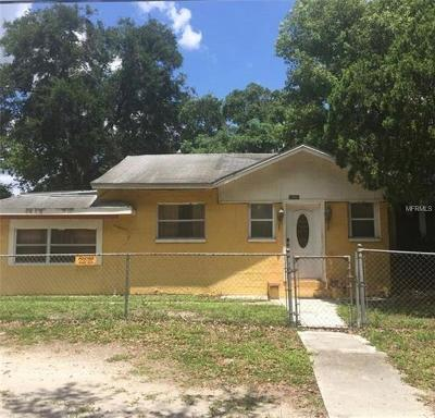 Tampa Single Family Home For Sale: 10801 N 14th Street
