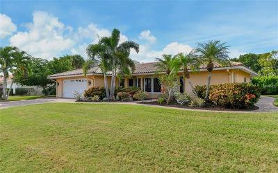 Longboat Key Single Family Home For Sale: 1170 Bogey Lane