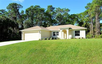 North Port Single Family Home For Sale: 1555 Campbell Street