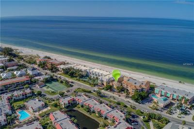 Bradenton Beach, Holmes Beach Condo For Sale: 1900 Gulf Drive N #12